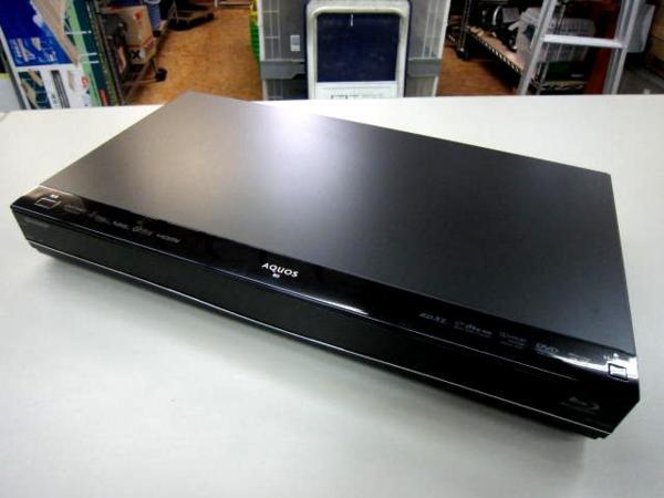 SHARP AQUOS ブルーレイレコーダー BD-S560 家電 買取 岡山 リサイクル買館