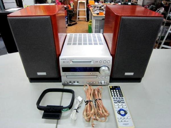 ONKYO Hi-MD/CDコンポ FR-N9TX オーディオ 買取 岡山リサイクル買館