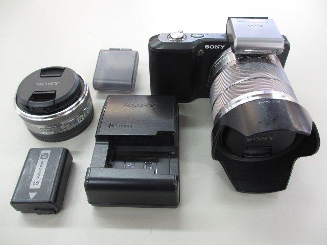 SONY ミラーレス一眼レフカメラ NEX-3 カメラ買取 岡山 リサイクル買館