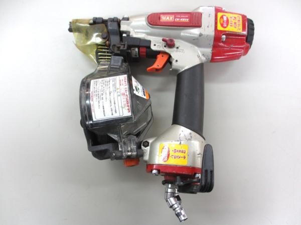 MAX CN-450S エア釘打機 コイルネイラ 工具買取 岡山 リサイクル買館