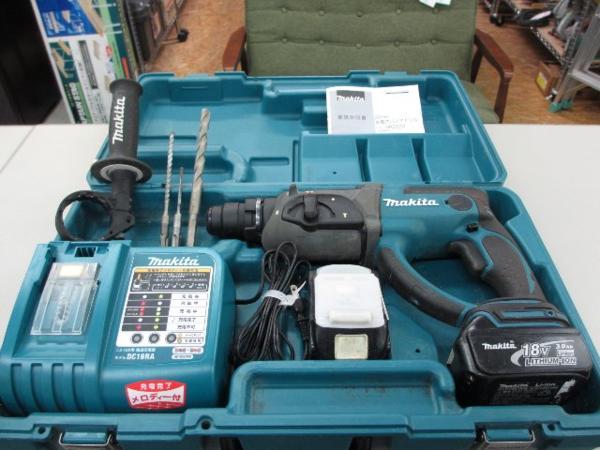 マキタ 充電式ハンマドリル HR202DRFX 電動工具 買取 岡山 リサイクル買館