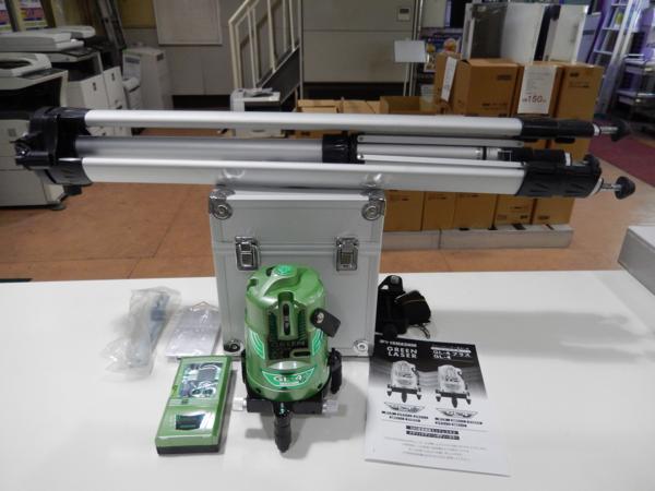 山真 グリーンレーザー墨出し器 GL-4+ 買取 岡山 リサイクル買館