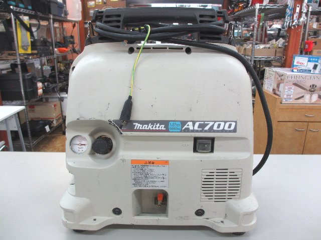 makita エアコンプレッサ AC700 工具買取 岡山リサイクル買館