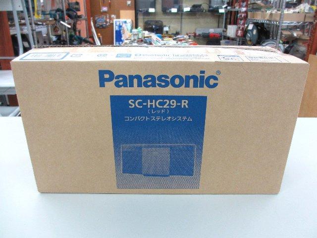 パナソニック コンパクトステレオシステム SC-HC29 オーディオ買取 岡山 リサイクル 買館