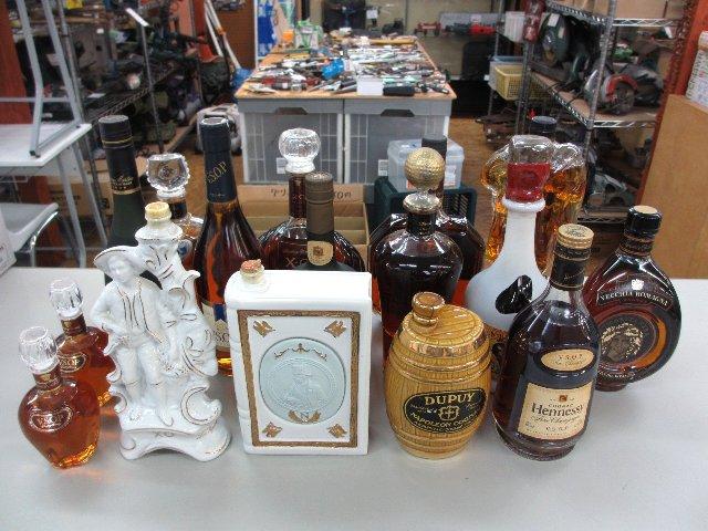 ブランデー ウイスキー 酒 古酒 買取 岡山 リサイクル買館