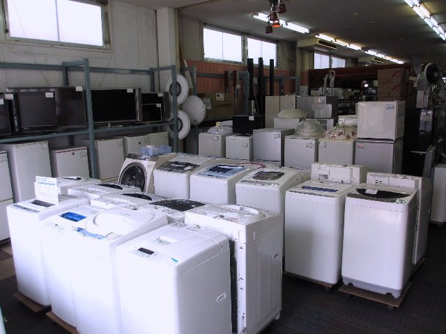 冷蔵庫・洗濯機・TV 家電・家具 買取 販売 岡山 リサイクル 買館