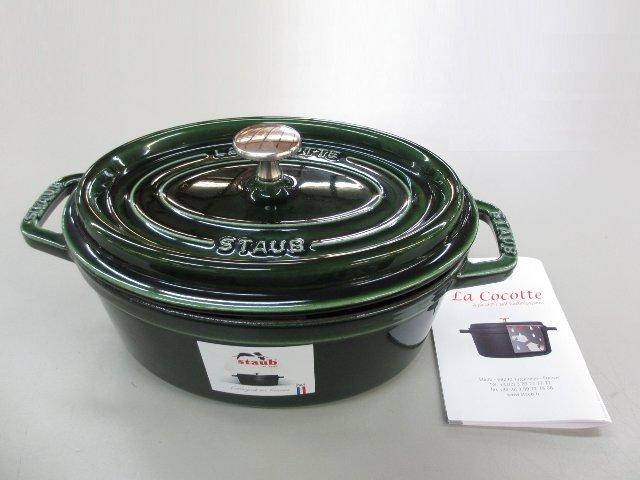 ストウブ ココットオーバル 両手鍋 厨房機器 買取 岡山 リサイクル買館