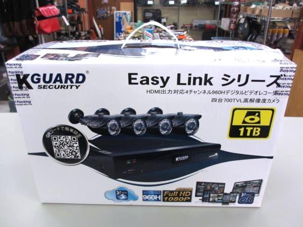 Kguard SECURITY EASY Link シリーズ 防犯カメラ レコーダー 買取 岡山 リサイクル 買館