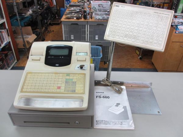 TEC 電子レジスター FS-660 店舗 厨房 事務 業務用品 買取 岡山 リサイクル 買館