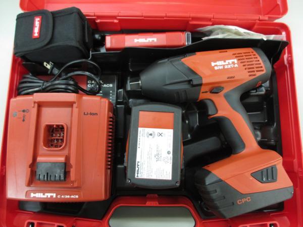 ヒルティ インパクトレンチ SIW 22T-A 電動工具 買取 岡山 リサイクル買館