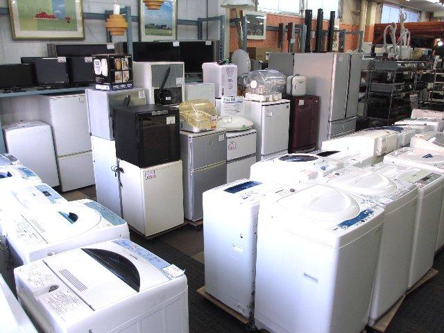 冷蔵庫・洗濯機・TV 家電・家具 出張買取 販売 岡山 リサイクル 買館