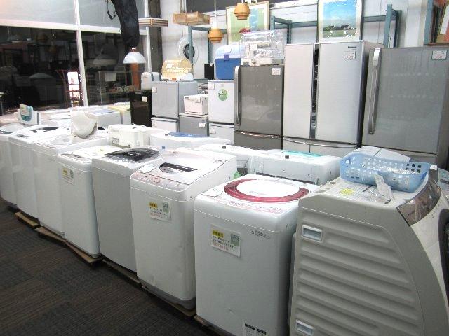 冷蔵庫・洗濯機・電子レンジ・TV 家具・家電 買取 販売 岡山 リサイクル買館