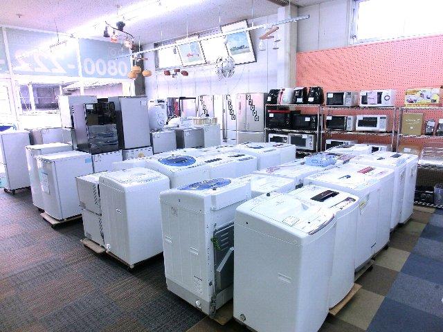 冷蔵庫・洗濯機・家電・家具 買取 販売 岡山 リサイクル 買館