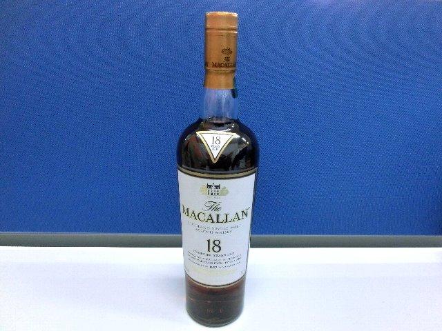 MACALLAN マッカラン 18年 酒 ブランデー 買取 岡山 リサイクル 買館