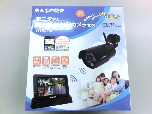 マスプロ ワイヤレスカメラ&モニターセット WHC7M