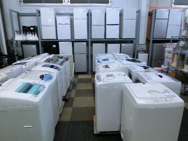 家具 家電 冷蔵庫 洗濯機 岡山 リサイクル買館 店内画像