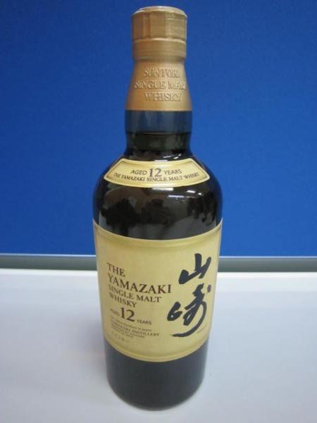 サントリー 山崎12年 ウイスキー 700ml お酒買取 岡山 リサイクル