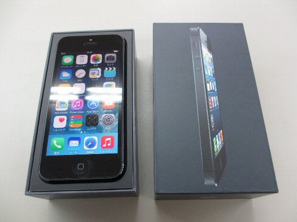 iPhone5 64GB ブラック MD662J/A スマホ 買取 岡山 リサイクル買館