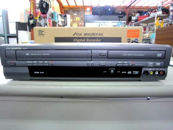 DX VHS一体型DVDレコーダー DXR160V 家電 レコーダー 買取 岡山 リサイクル買館