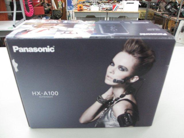 Panasonic ウェアラブルカメラ HX-A100 デジカメ ビデオカメラ 買取 岡山 リサイクル買館