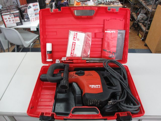 HILTI 電動ハツリ機 TE500-X 工具買取 岡山 リサイクル買館