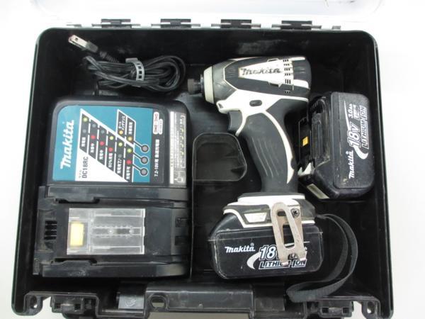 makita 18V充電式インパクトドライバ TD146DRFX 工具買取 岡山 リサイクル買館