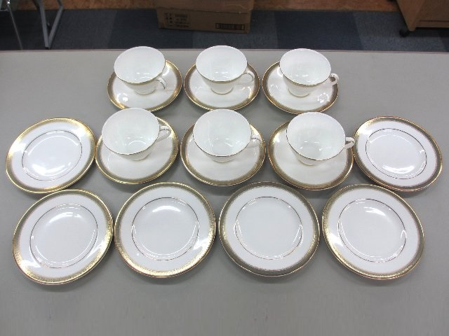 Royal Doulton Clarendon カップ&ソーサー 6客セット ギフト品 ブランド食器 買取 岡山 リサイクル買館