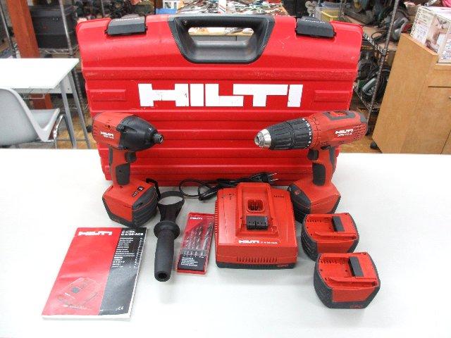 ヒルティ  ユニバーサルキット SID14-A SFH14-A 工具買取 岡山 リサイクル 買館