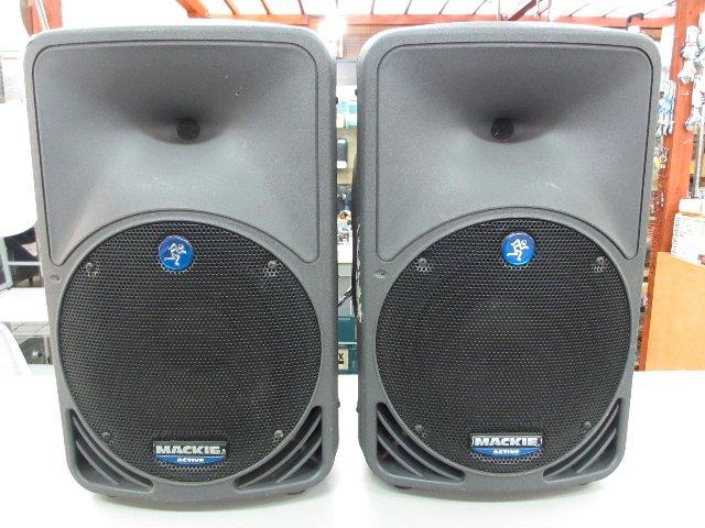 Mackie スピーカー SRM-350 オーディオ 楽器 買取 岡山  リサイクル 買館