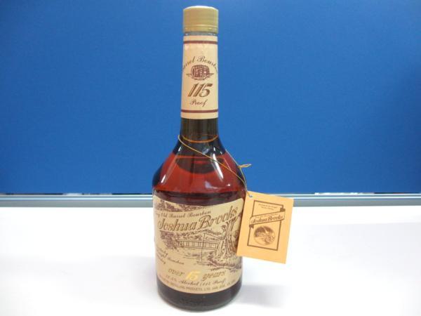 古酒 ウイスキー ジョシュアブルックス 15年 買取 岡山 リサイクル買館