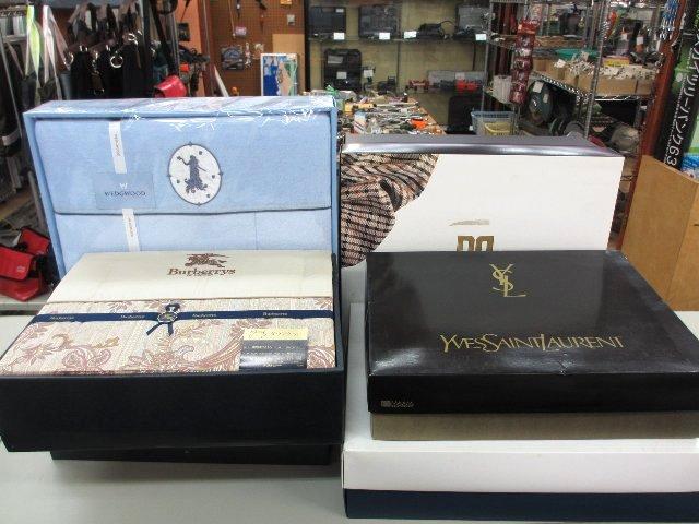 BURBERRY WEDGWOOD タオル・寝具 ギフト品 買取 岡山 リサイクル 買館
