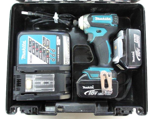 マキタ 充電式インパクトドライバ TD147DRMX 18V 買取 岡山 リサイクル 買館
