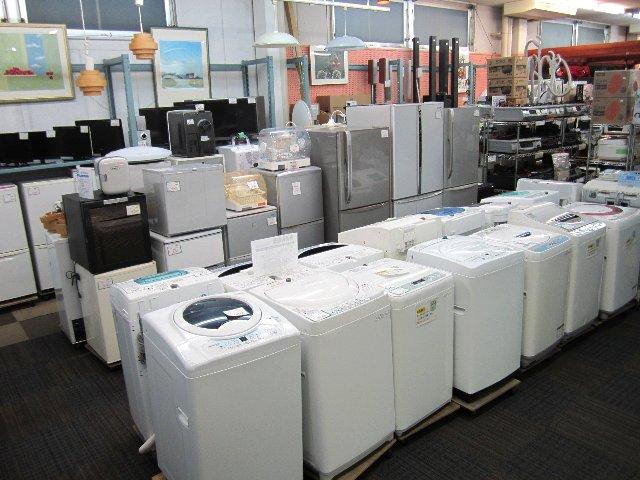 冷蔵庫・洗濯機・レンジ・TV 家電・家具 買取 販売 岡山 リサイクル 買館