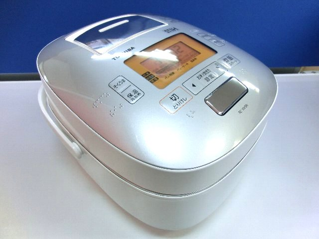 TOSHIBA 真空圧力IHジャー 炊飯器 RC-10VSH 家電買取 岡山 リサイクル 買館