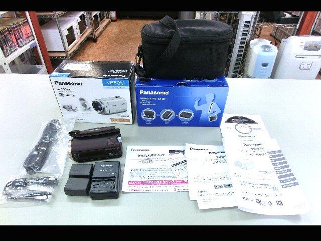 Panasonic デジタルビデオカメラ HC-V550M 家電買取 岡山 リサイクル 買館