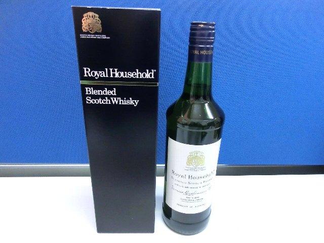 ロイヤル ハウスホールド 酒 ブランデー ウィスキー 買取 岡山 リサイクルショップ リサイクル 買館