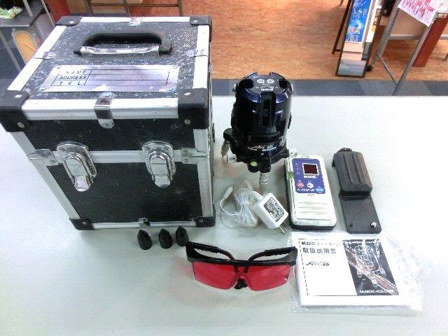 ムラテック KDS 高輝度レーザー墨出器 工具 買取 岡山 リサイクルショップ